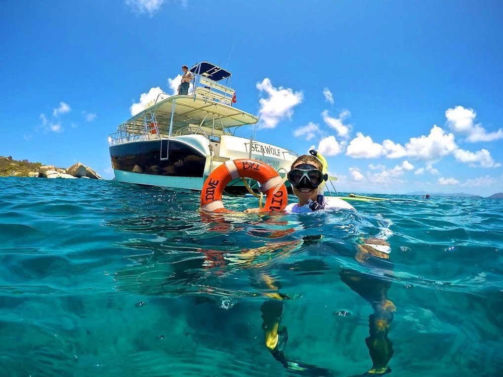 DVI operator offers the best equipped and most experienced diving Virgin Island