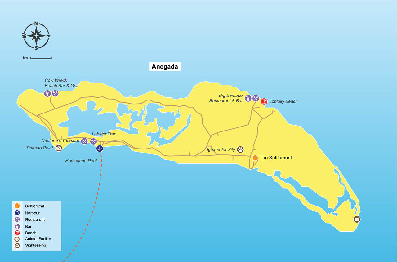 Anegada travel guide Things to do on Anegada Virginbookingscom