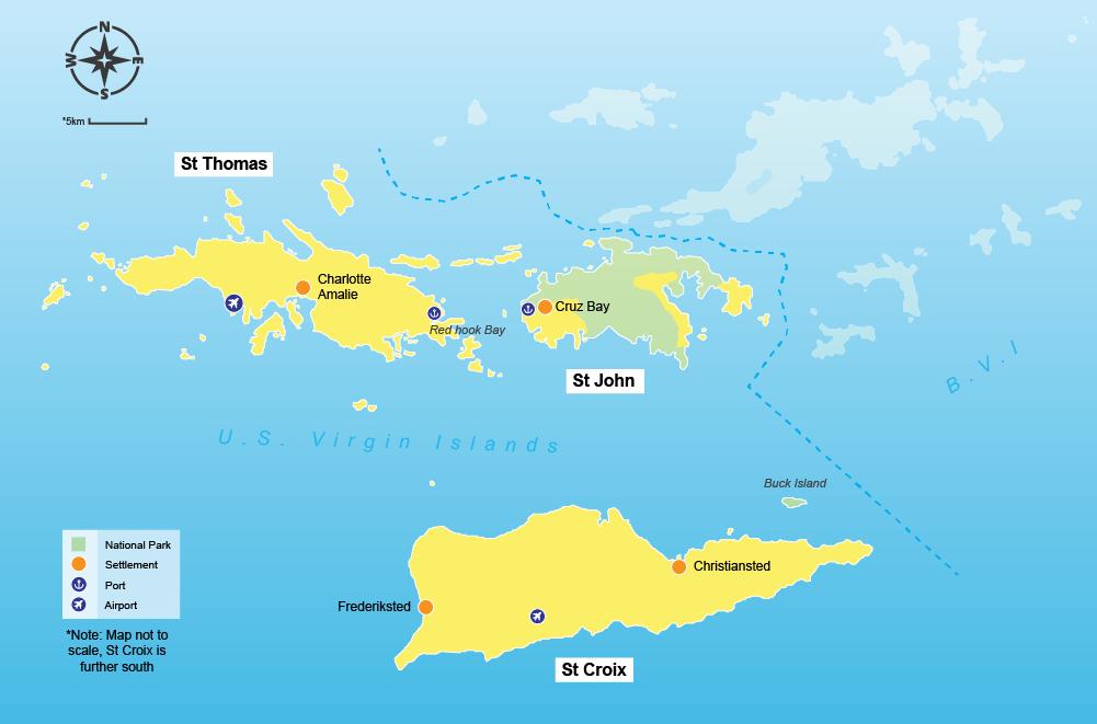 US Virgin Islands travel guide - Virginbookings.com - Virginbookings.com