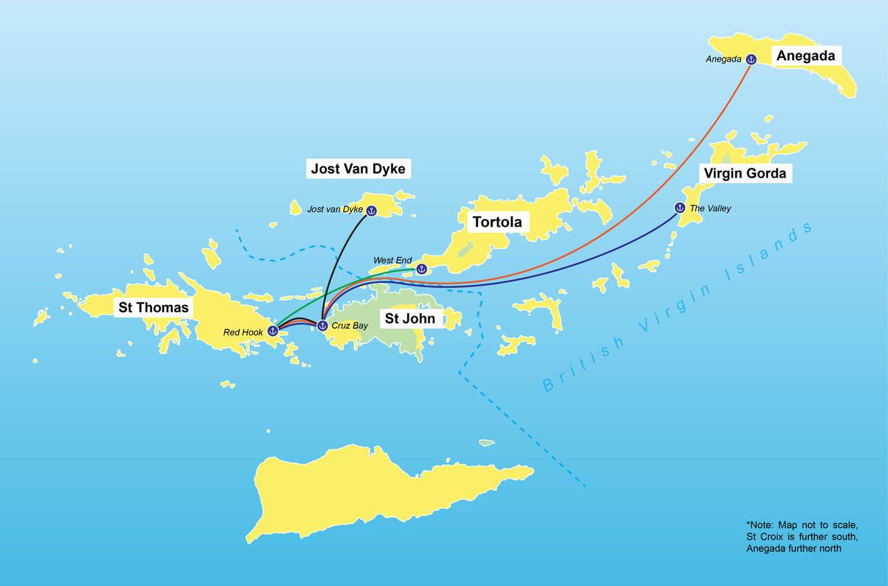 islands tax departure virgin British