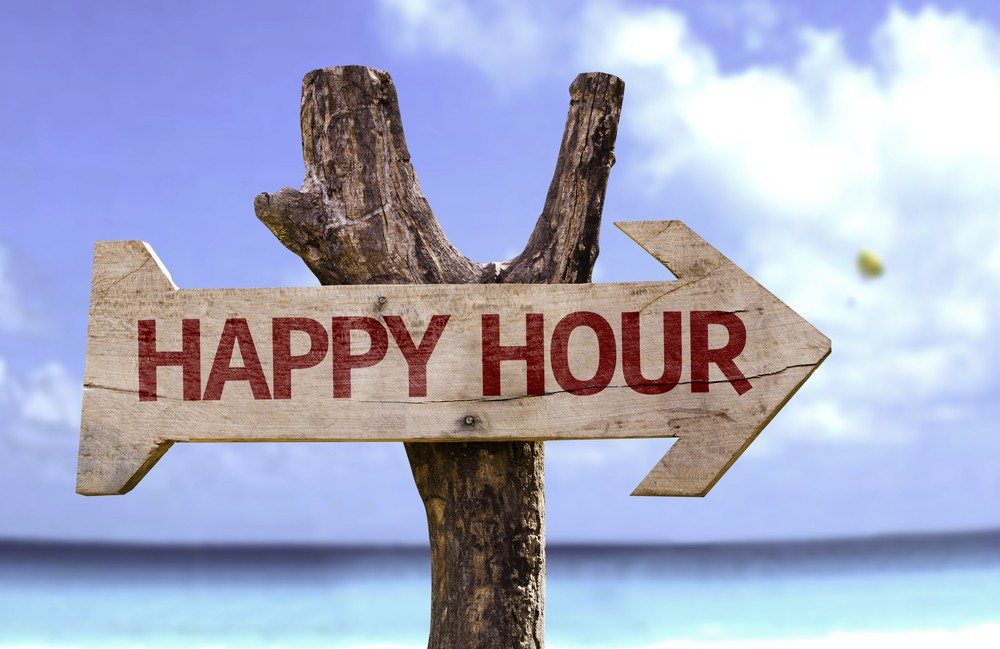 Best happy hours deal on st.Thomas